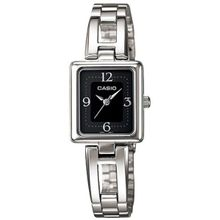 Casio #LTP1346D-1CDF Women's Metal Fashion Standard Black Dial Bracelet Watch