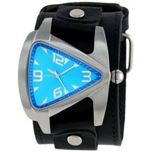 Nemesis LBB011L Mens Blue Dial Analog Quartz Watch with Leather Strap