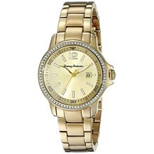 Tommy Bahama 10018328 Womens Gold Dial Analog Quartz Watch