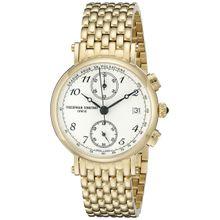 Frederique Constant FC291A2R5B Mens White Dial Analog Quartz Watch