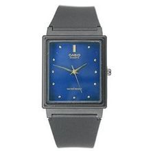 Casio MQ38-2A Mens Blue Dial Analog Quartz Watch with Resin Strap