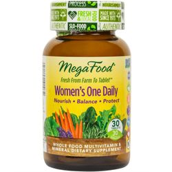 MegaFood Women's One Daily Supports Healthy Emotional Balance & Stress Response 30 Tablets