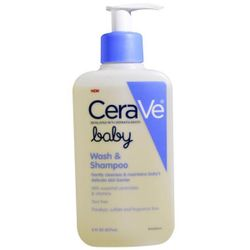 CeraVe Baby Wash and Shampoo 8 fl oz (237 ml)