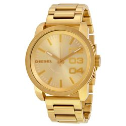 Diesel DZ1466 Unisex Champagne Dial Analog Quartz Watch