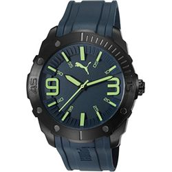 Puma PU103881002 Mens Blue Dial Analog Quartz Watch