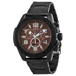 Citizen AT2275-56X Mens Brown Dial Analog Quartz Watch