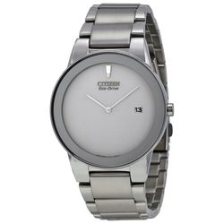 Citizen AU1060-51A Mens Grey Dial Analog Quartz Watch with Stainless Steel Strap