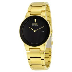 Citizen AU1062-56E Mens Black Dial Analog Quartz Watch