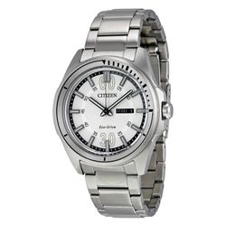 Citizen AW0031-52A Mens White Dial Analog Quartz Watch